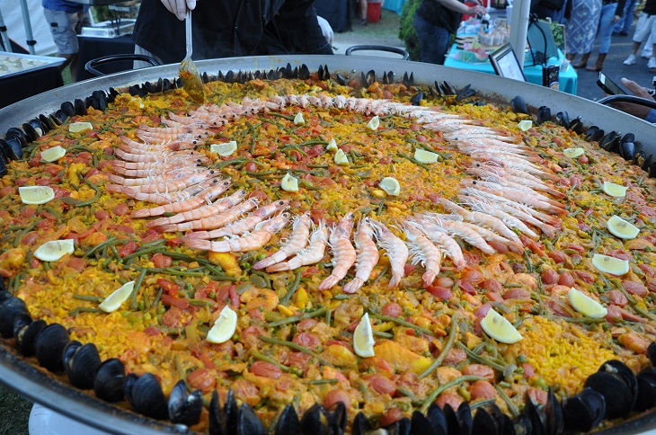 Massive Plate of Paella