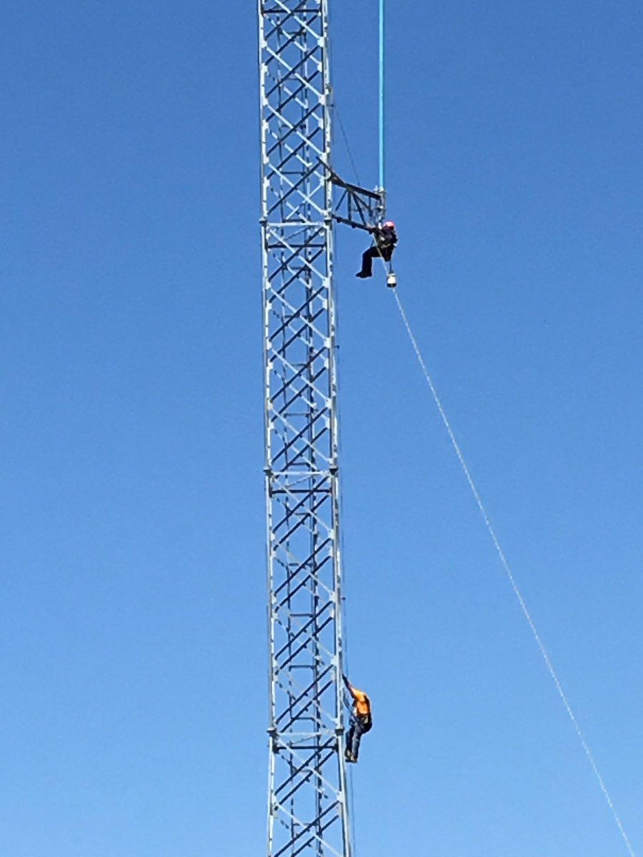 Firefighters Rescue Man Stuck On Radio Tower Edhat