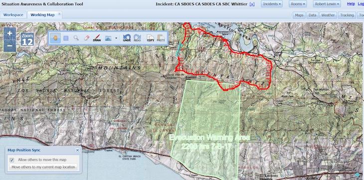 Whittier Fire Remains at 87% Containment | Edhat
