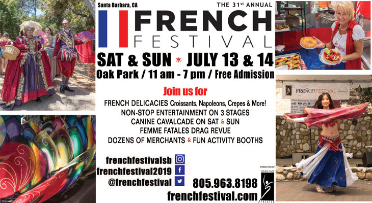 The 31st Annual Santa Barbara French Festival title=