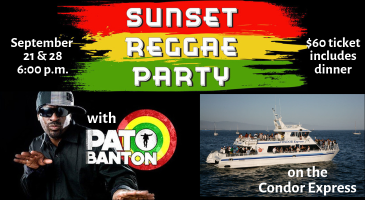 Sunset Reggae Cruise with Pato Banton - Night 2 title=