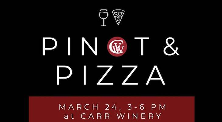 Pinot & Pizza Party at Carr Winery title=