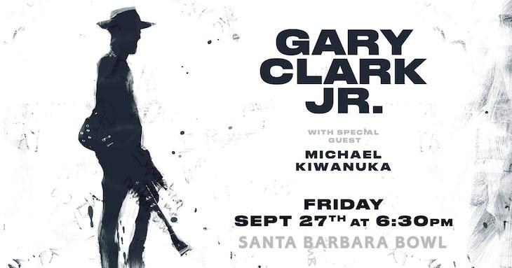 Gary Clark Jr. at the Santa Barbara Bowl title=