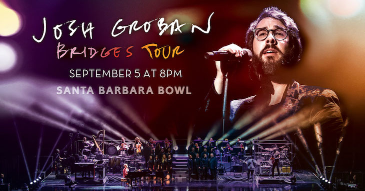 Josh Groban at the Santa Barbara Bowl title=