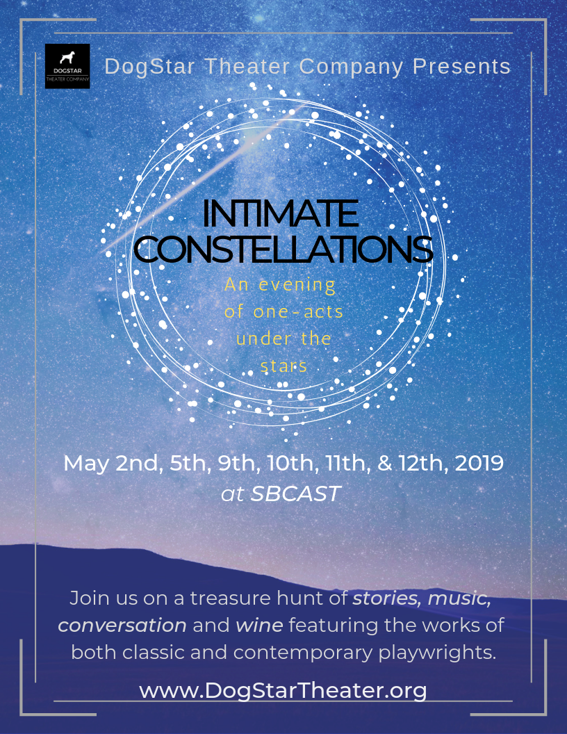 Intimate Constellations: A treasure hunt of one-acts and music under the stars title=