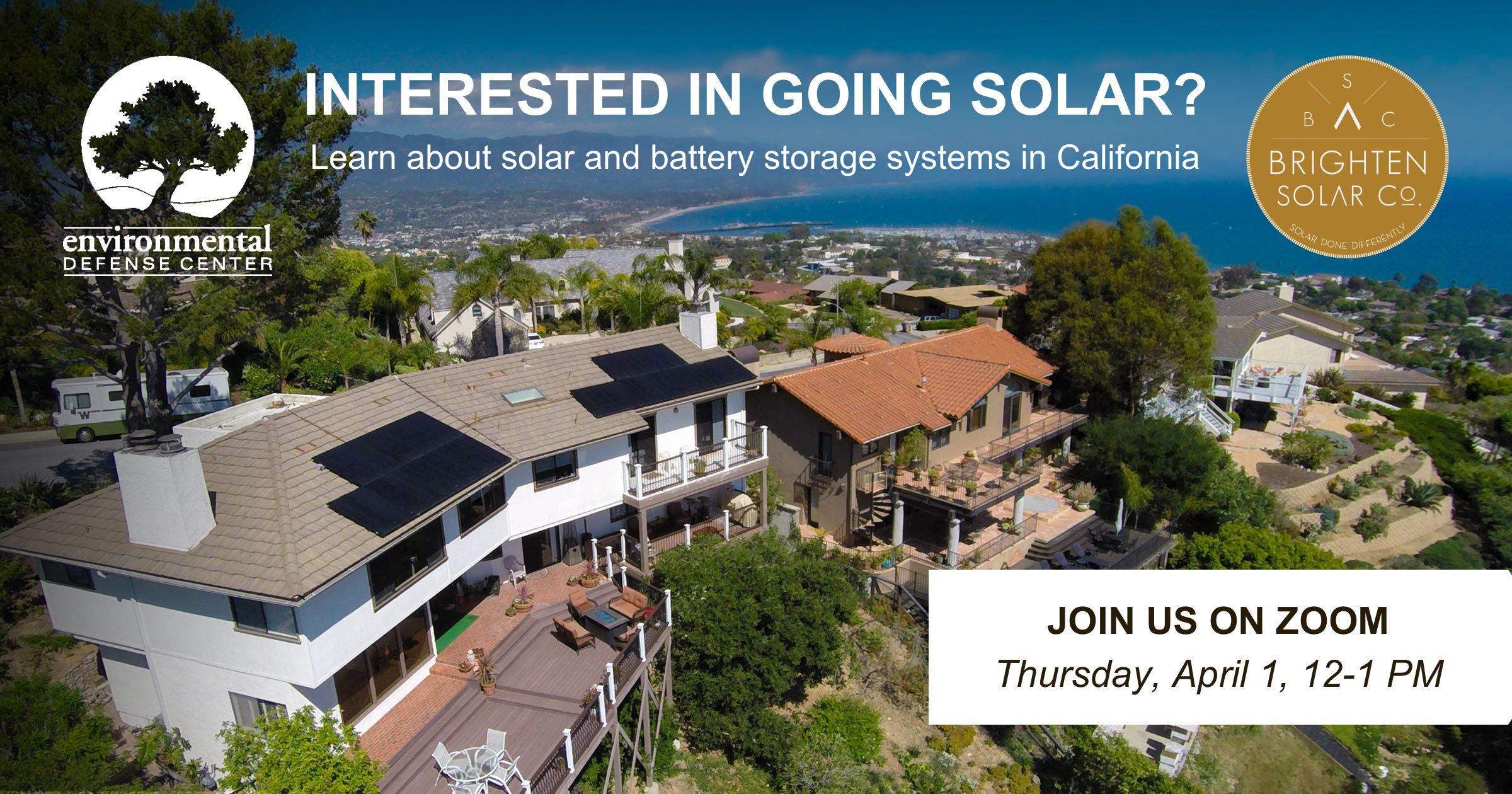 Solar & Battery Storage Workshop with Brighten Solar and EDC title=