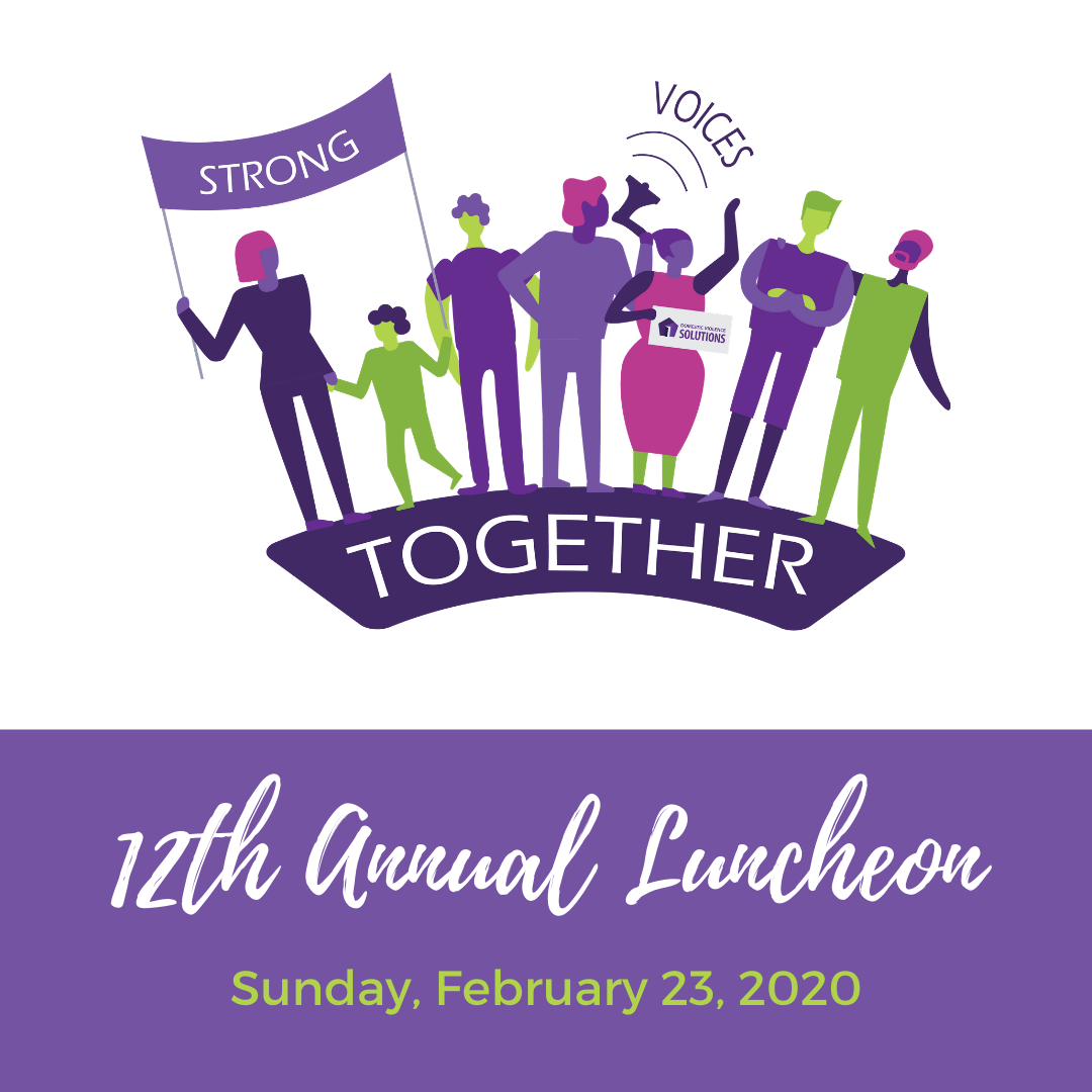 Domestic Violence Solutions' 12th Annual Luncheon title=