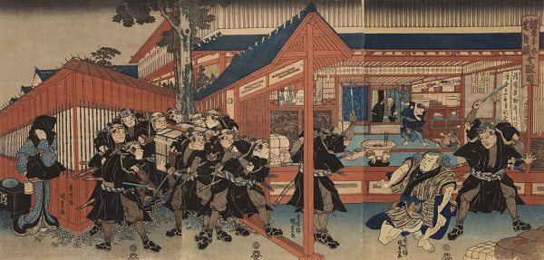 The Loyal League: Images from Japan's Enduring Tale of Samurai Honor and Revenge