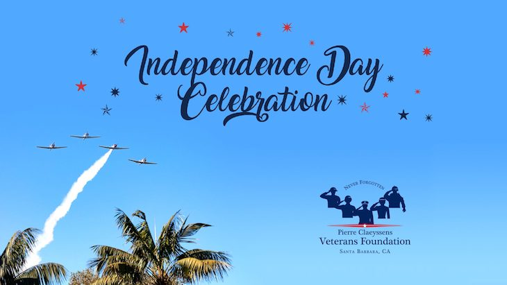 Pierre Claeyssens Veterans Foundation 4th of July Independence Day Celebration title=