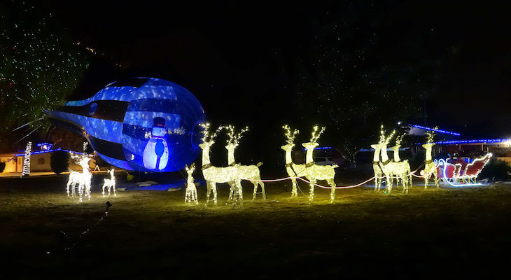 Holiday Tour of Lights Dec 6 - 30