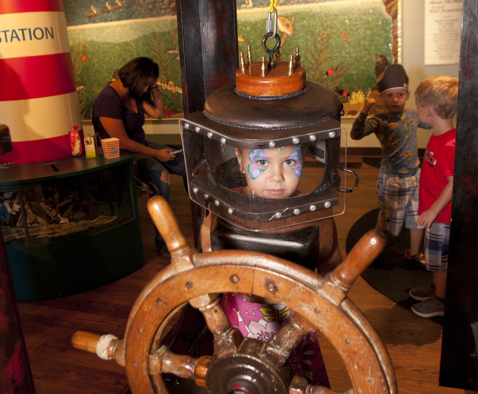 Family Night at the Maritime Museum: Back to School title=