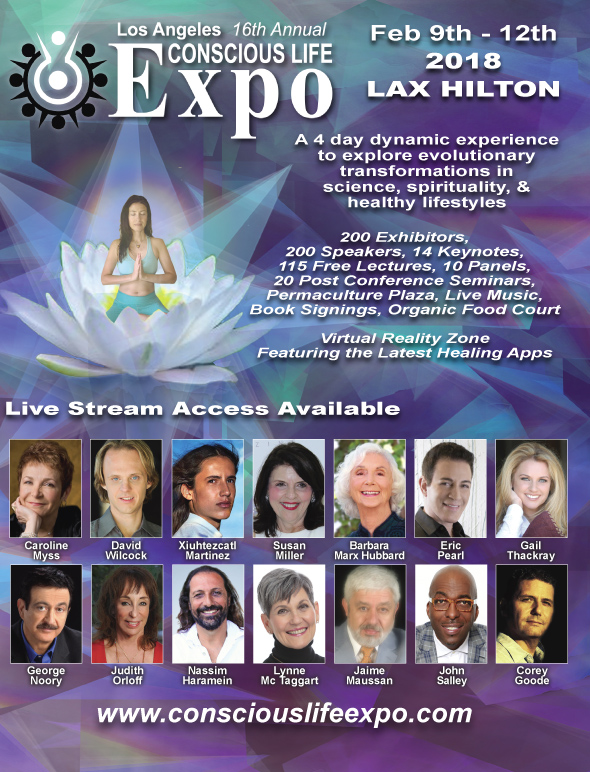 16th Conscious Life Expo - Feb. 9-12, 2018 title=