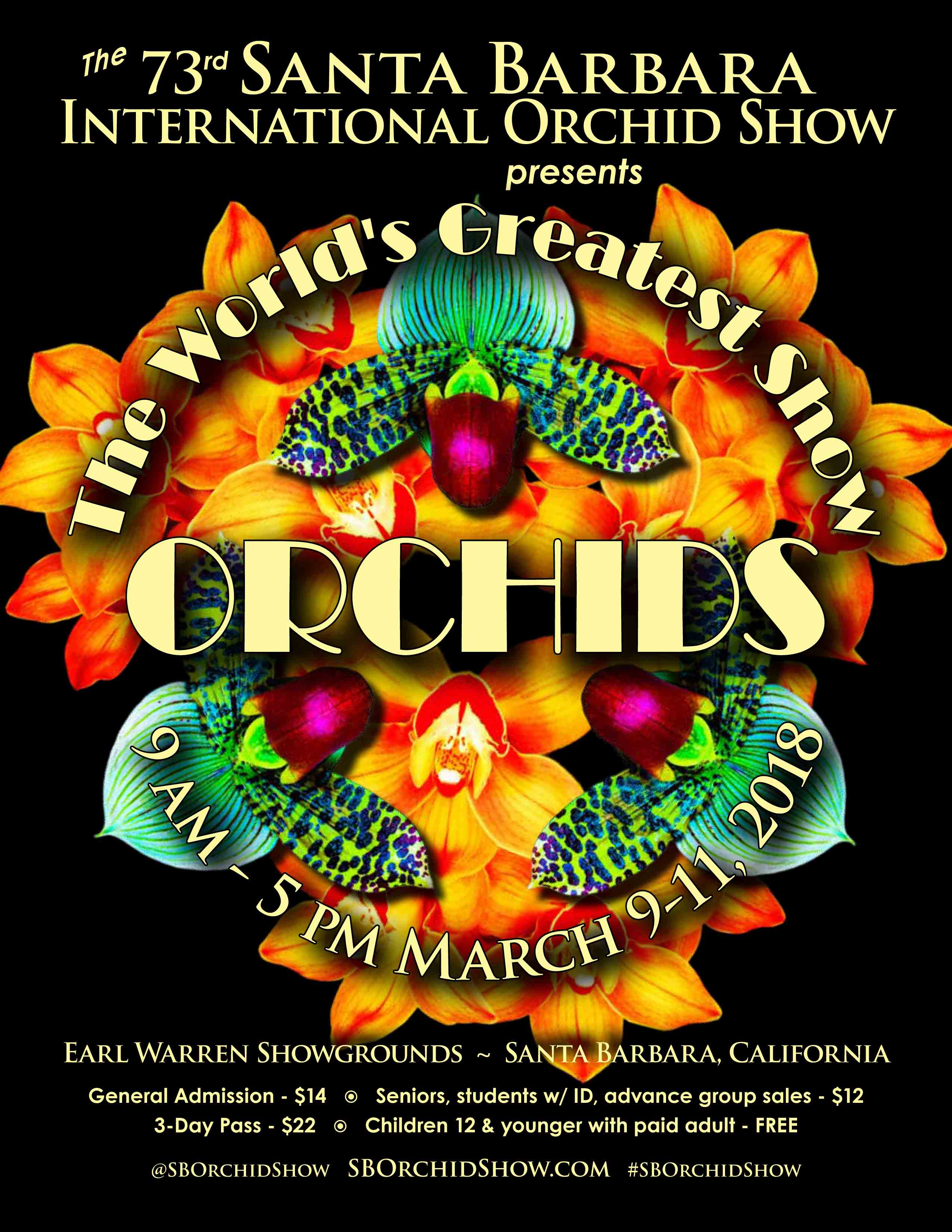 Save the Date: 73rd Annual Santa Barbara International Orchid Show