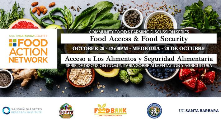 Community Food & Farming Discussion Series: Food Access and Food Security / Acceso a Los Alimentos y Seguridad Alimentario title=