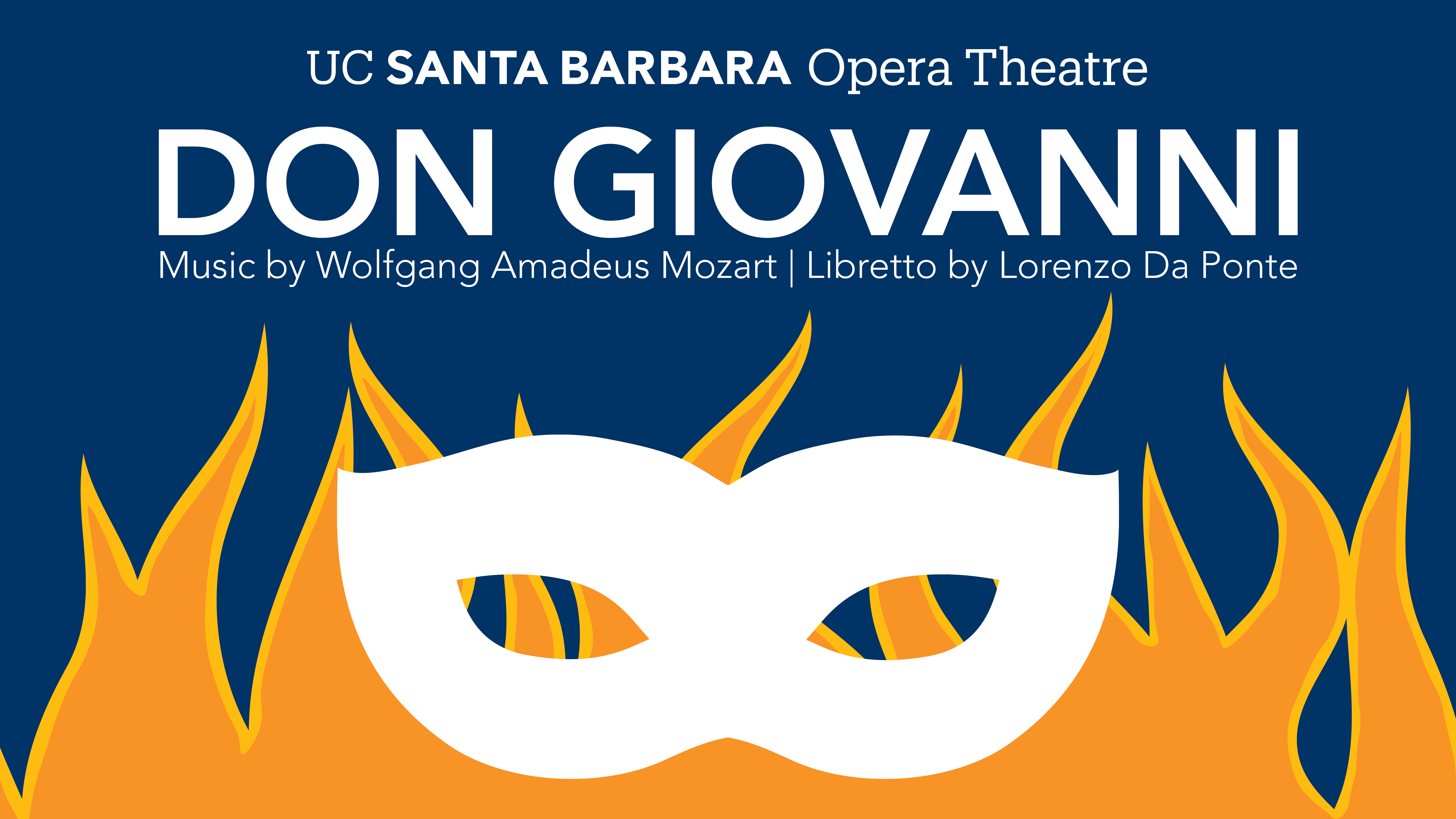 UC Santa Barbara Opera Theatre presents Wolfgang Amadeus Mozart's Don Giovanni title=