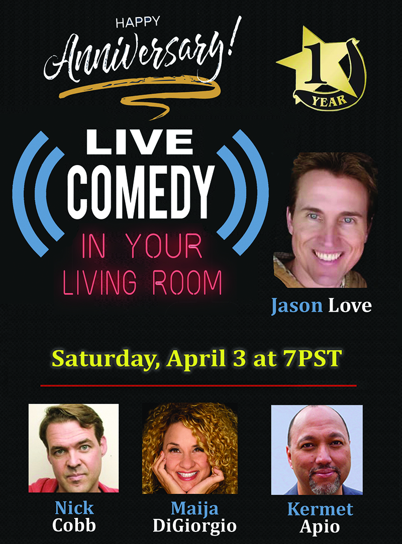 Live Comedy in Your Living Room title=