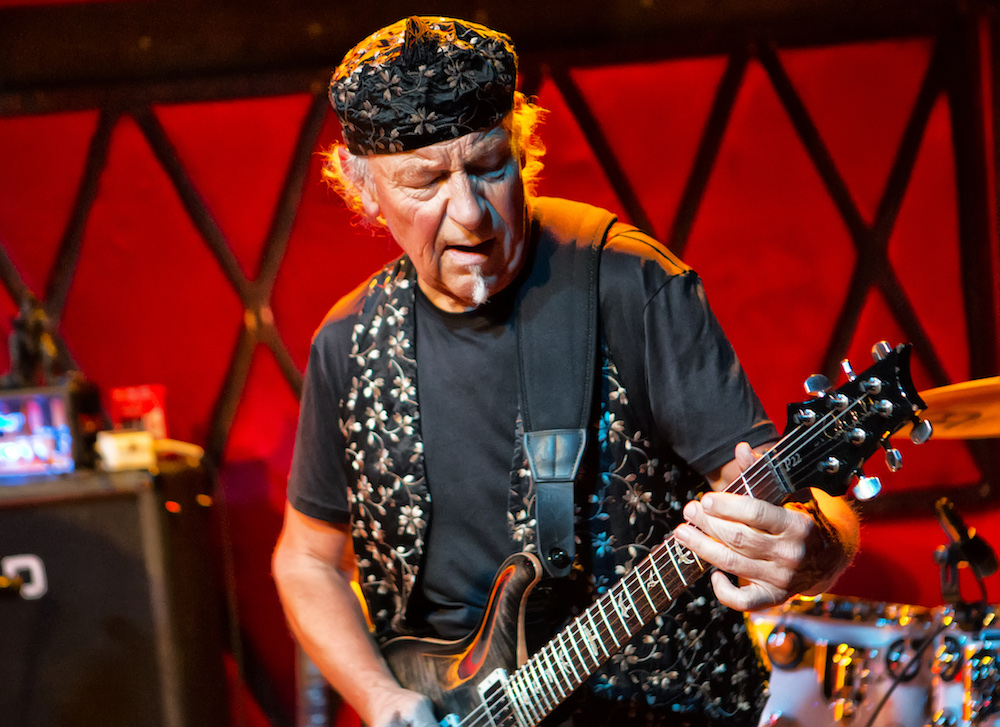 Martin Barre of Jethro Tull Live at SOhO! title=