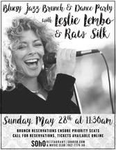 Jazz Brunch w/ Leslie Lembo & Raw Silk title=