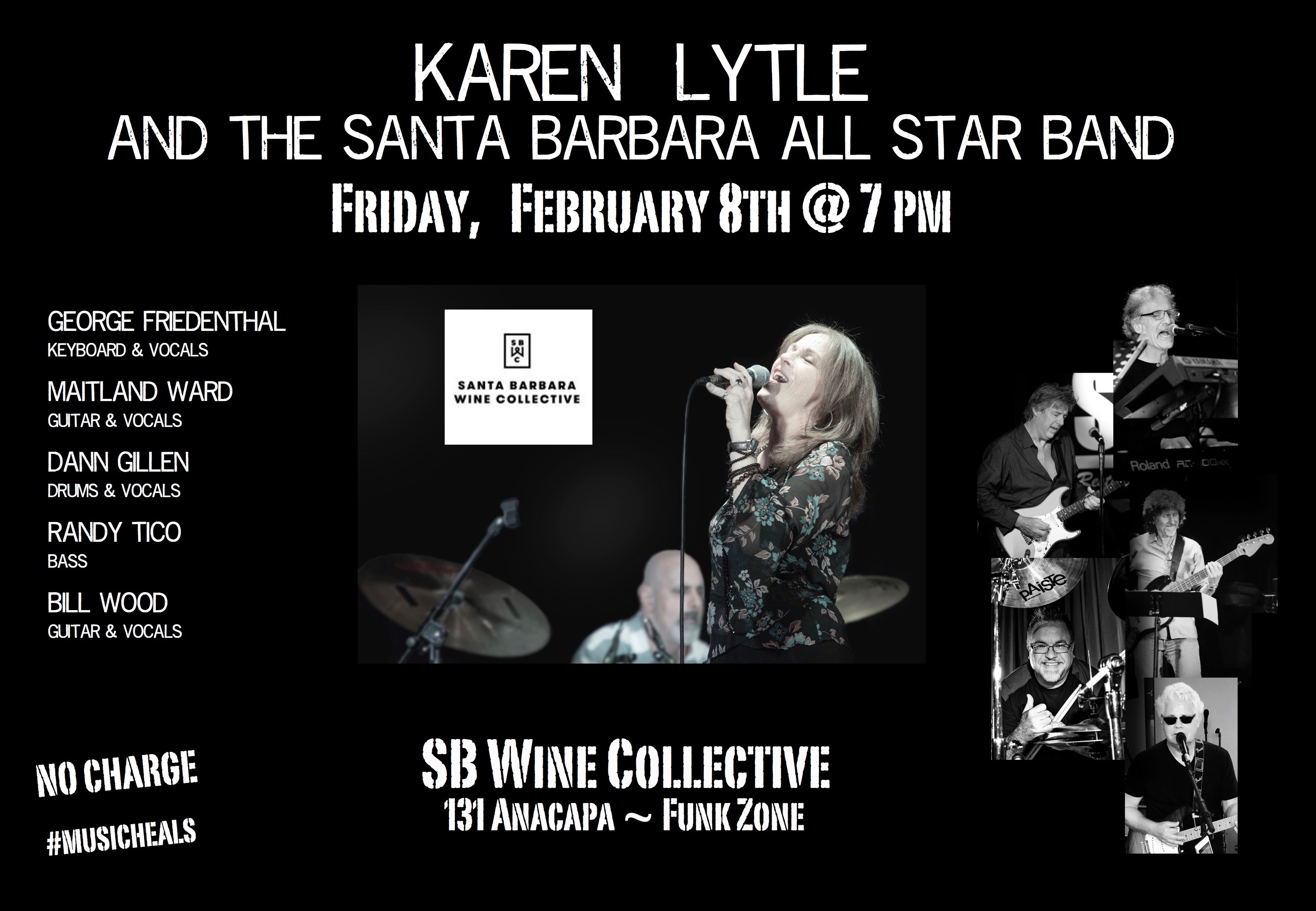 Karen Lytle w/ Santa Barbara's All Star Band  title=