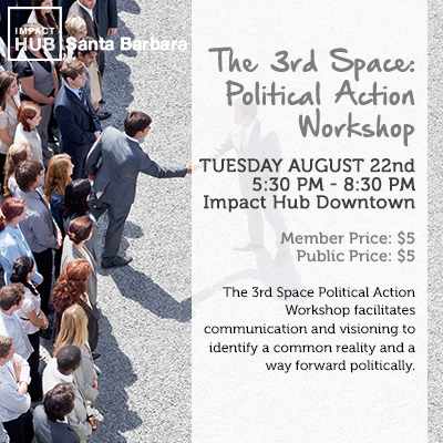 The 3rd Space: Political Action Workshop