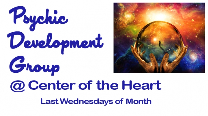 Monthly Psychic Development Group