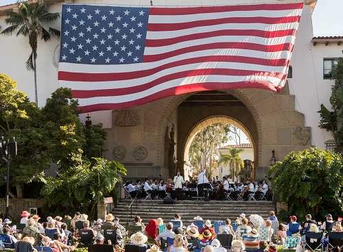4th of July Concert featuring Ellis Island: The Dream of America title=