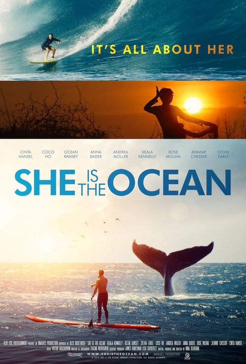 She is the Ocean title=