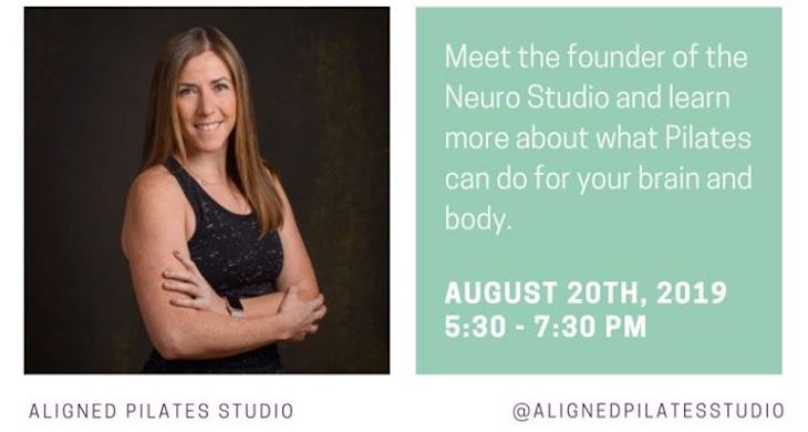Sip and Chat: Neurological Conditions and Pilates title=