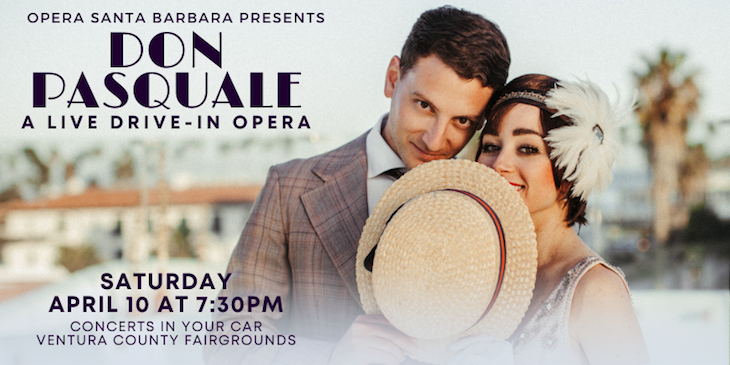 OPERA SANTA BARBARA IS BACK FOR A LIVE DRIVE-IN OPERA OF DON PASQUALE title=