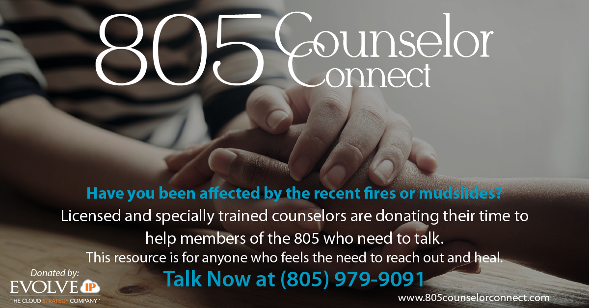 New Free Counseling Resource for 805 Community title=