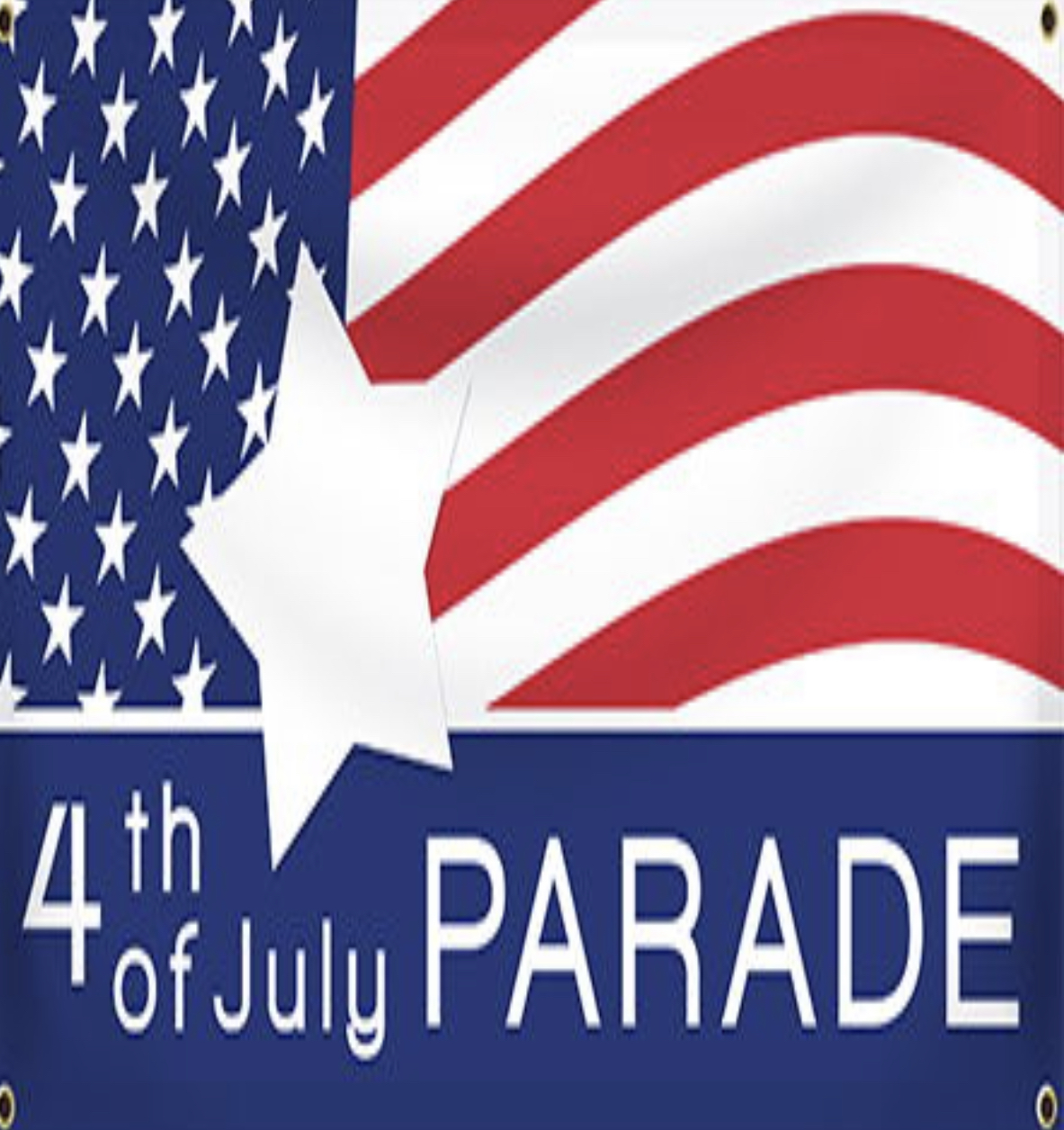 Flag Wavers 4th of July Parade  title=