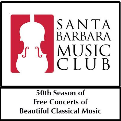 Santa Barbara Music Club 50th Season of Free Concerts title=
