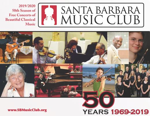 Santa Barbara Music Club Free Concerts title=