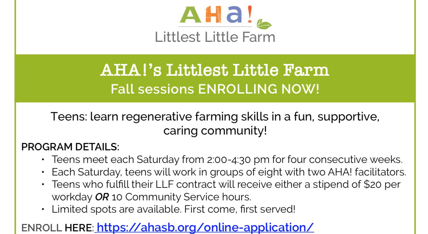 AHA!s Littlest Little Farm title=