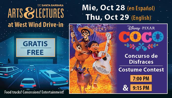 Free Drive-In Movie & Costume Contest: Coco title=