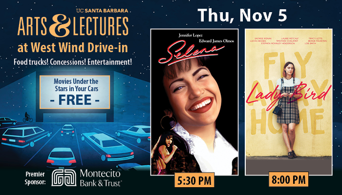 FREE Drive-In Movies: Selena & LadyBird title=