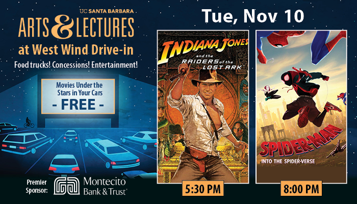 FREE Drive-In Movies: Indiana Jones and the Raiders of the Lost Ark & Spiderman: Into the Spider-Verse title=