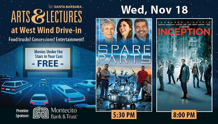 FREE Drive-In Movies: Spare Parts & Inception title=