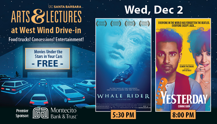FREE Drive-In Movies: Whale Rider & Yesterday title=