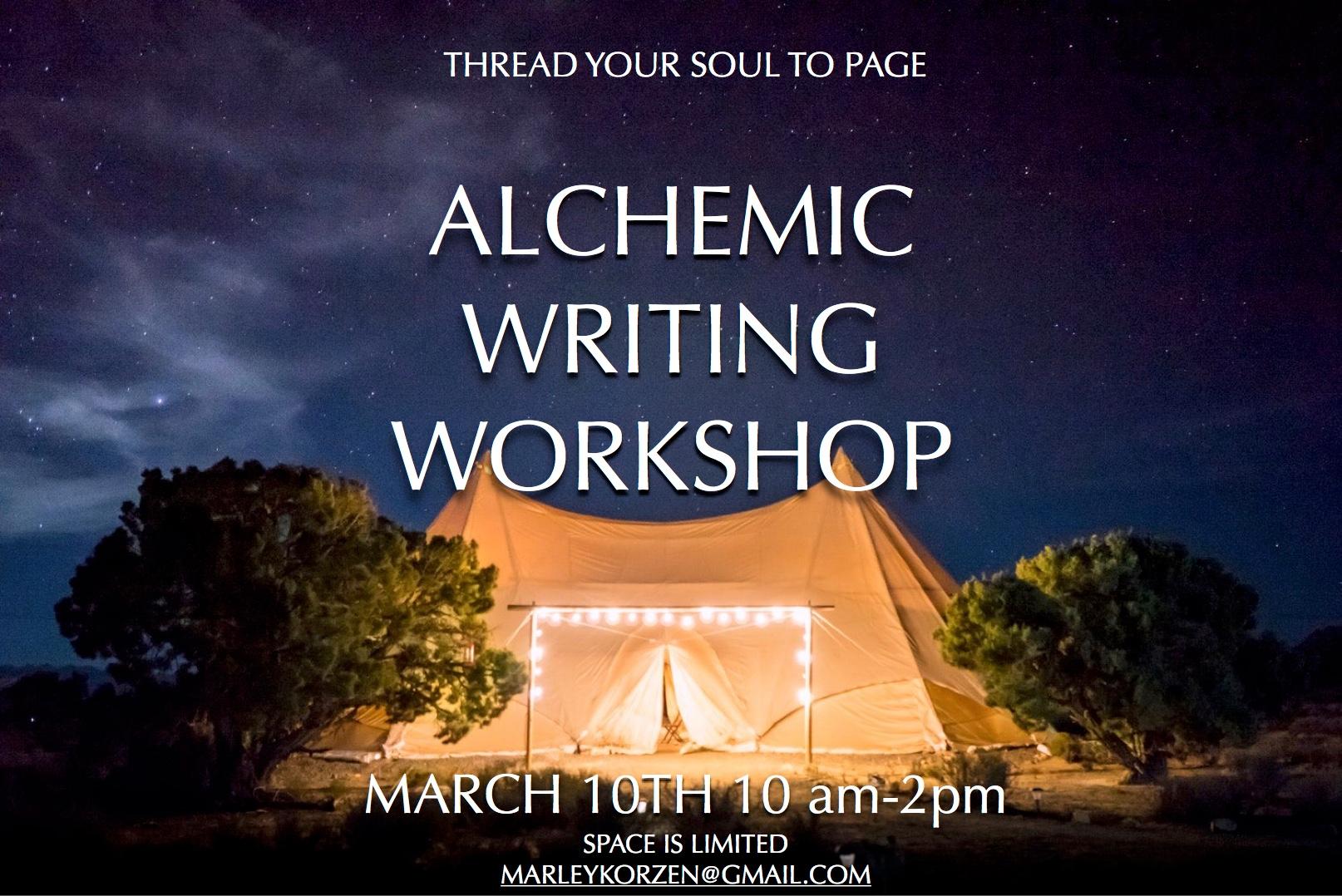 Alchemic Writing Workshop