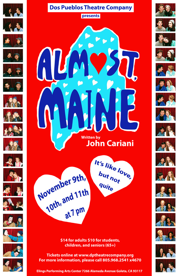 Almost, Maine Theatre at Dos Pueblos One Weekend Only! title=