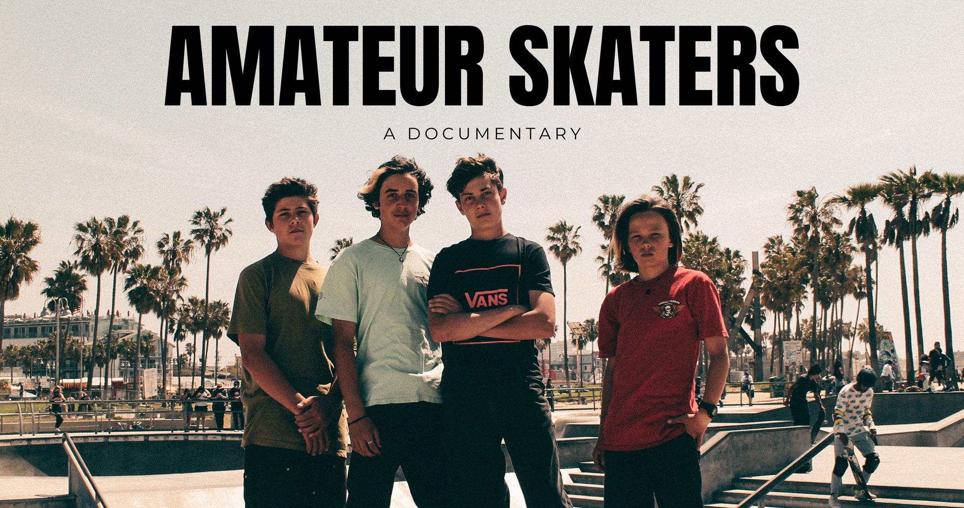 World Premiere of Amateur Skaters title=