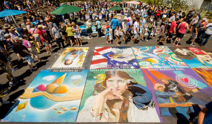 I Madonnari Italian Street Painting Festival title=
