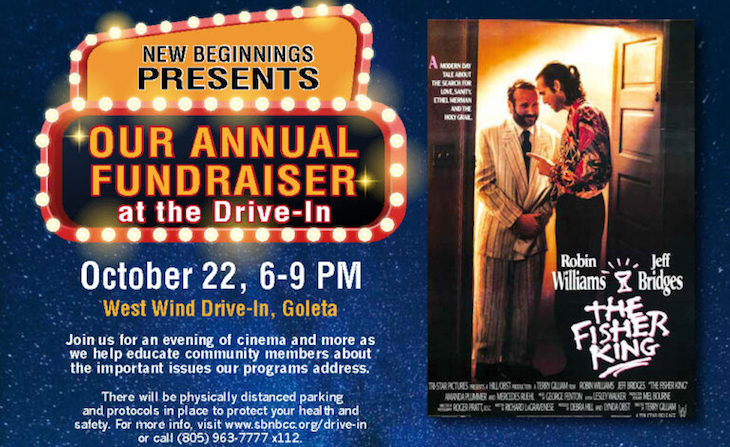 New Beginnings Annual Fundraiser at the Drive-In title=