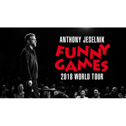 LIVE NATION PRESENTS Anthony Jeselnik Funny Games Tour