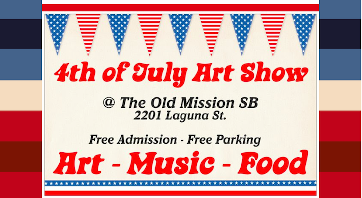 4th of July Art Show title=