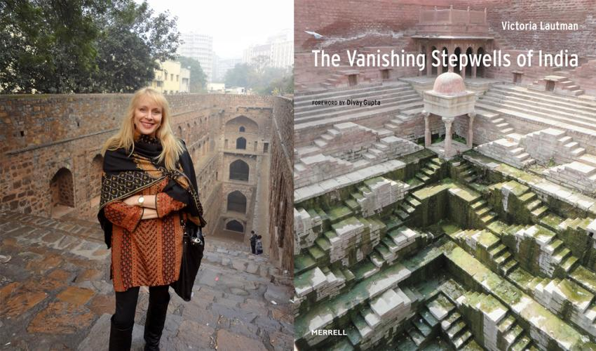 """Armchair Travel Lecture: Victoria Lautman """"Subterranean Ghosts: The Vanishing Stepwells of India"""" title="""