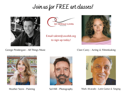 Free Summer Creative Classes Beginning July 15!
