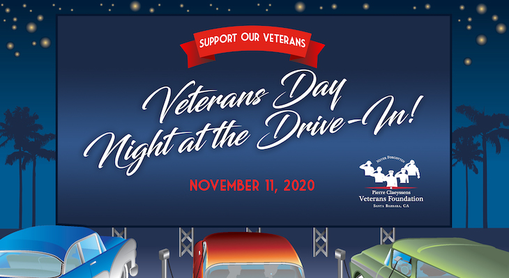 """Veterans Day """"Night at the Drive-In!"""" title="""