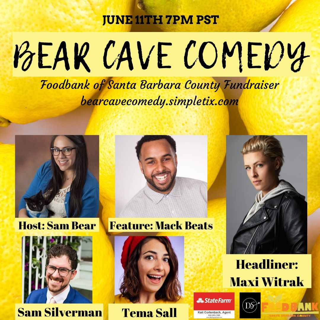 Bear Cave Comedy For A Cause title=
